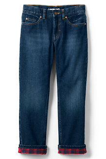 Boys' Iron Knees Flannel-lined Classic Fit Jeans