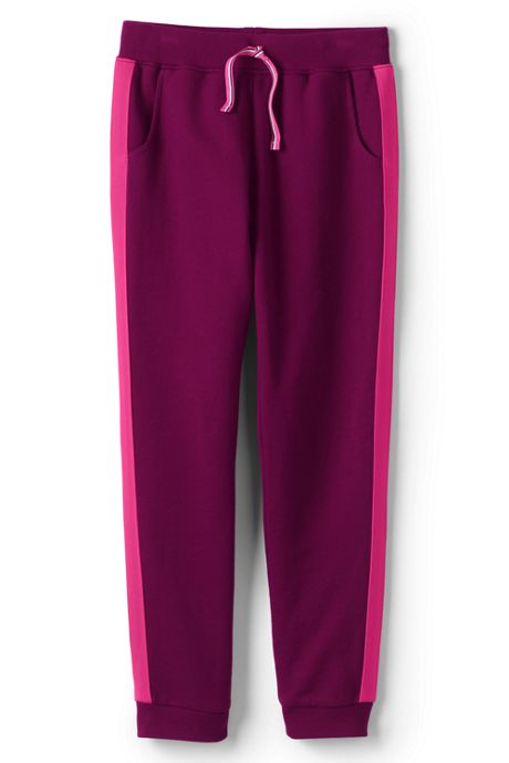 Girls Plus Size Iron Knee Joggers
