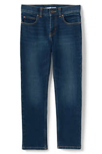 Boys Slim Iron Knee Stretch Slim Fit Jeans, Front