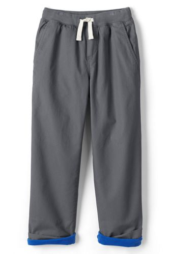 Boys' Iron Knees Jersey-lined Pull-on Trousers