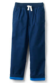 Boys Husky Lined Iron Knee Pull on Pants