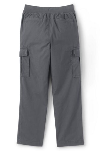 Boys Husky Iron Knee Pull On Cargo Pants