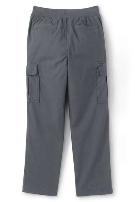 Toddler Boys Iron Knee Pull On Cargo Pants