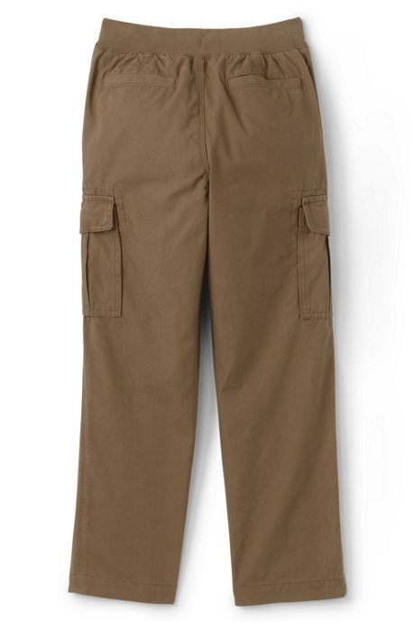 Boys Iron Knee Pull On Cargo Pants