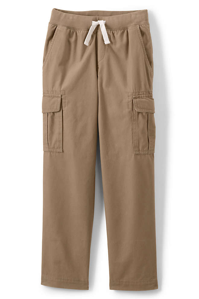 Boys Husky Iron Knee Pull On Cargo Pants, Front