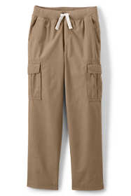 Boys Slim Iron Knee Pull On Cargo Pant