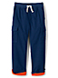 Boys' Iron Knees Jersey-lined Pull-on Cargo Trousers