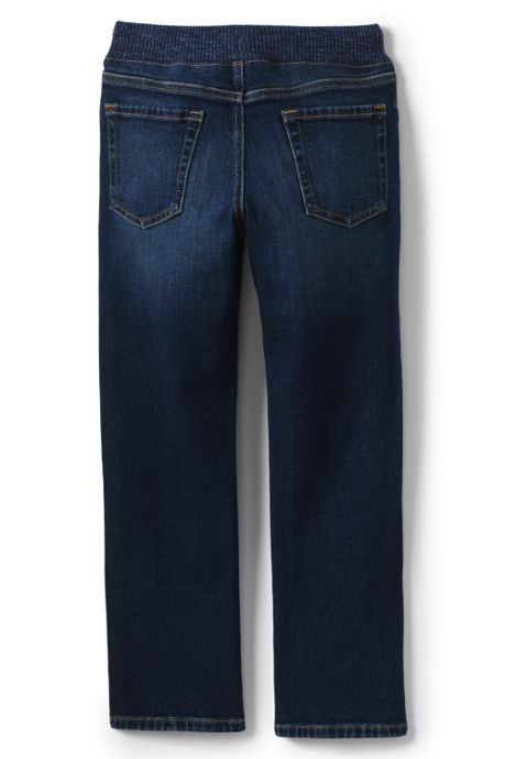Little Boys Iron Knee Stretch Pull on Jeans