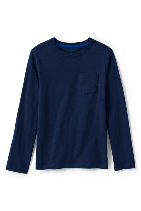 Toddler Boys Slub Knit Tee Shirt