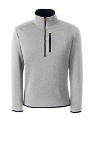 Men's Quarter Zip Sweater Fleece
