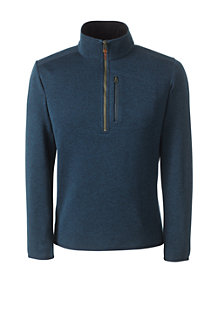 Men's Half-zip Sweater Fleece Top