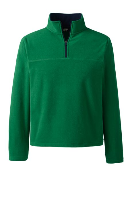 Men's Big & Tall Fleece Quarter Zip
