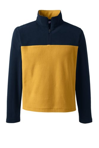 Men's Half Zip Fleece Top