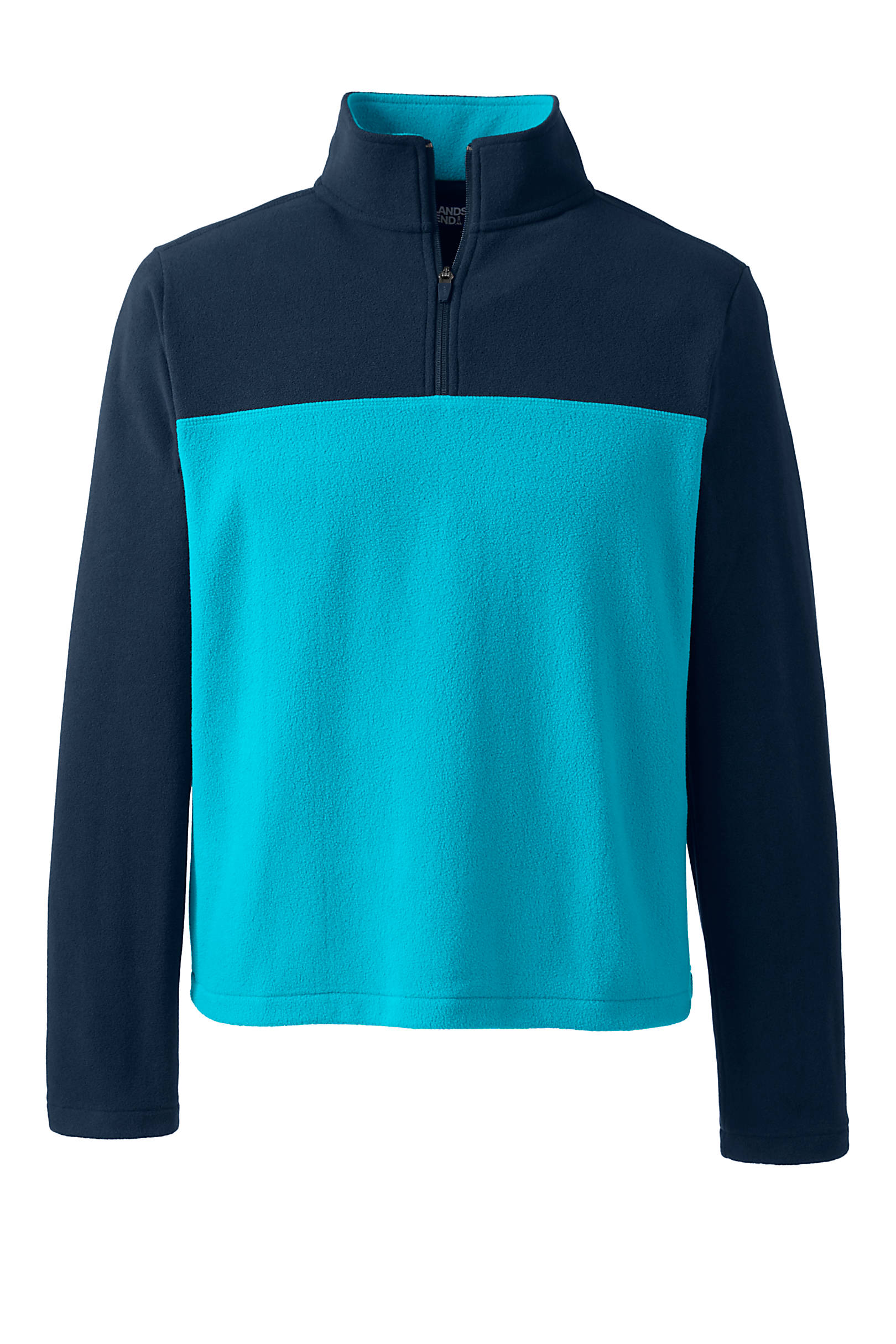Lands' End Men's Fleece Quarter Zip