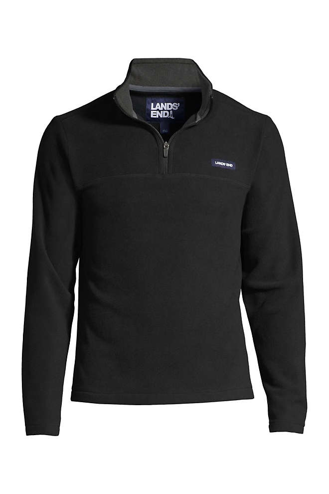 Men's Big & Tall Fleece Quarter Zip, Front