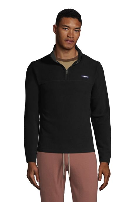 Men's Tall Fleece Quarter Zip