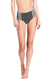 Women's Retro High Waisted Bikini Bottoms