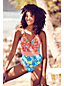 Women's Sunrise Collection Swimsuit Flower Geo