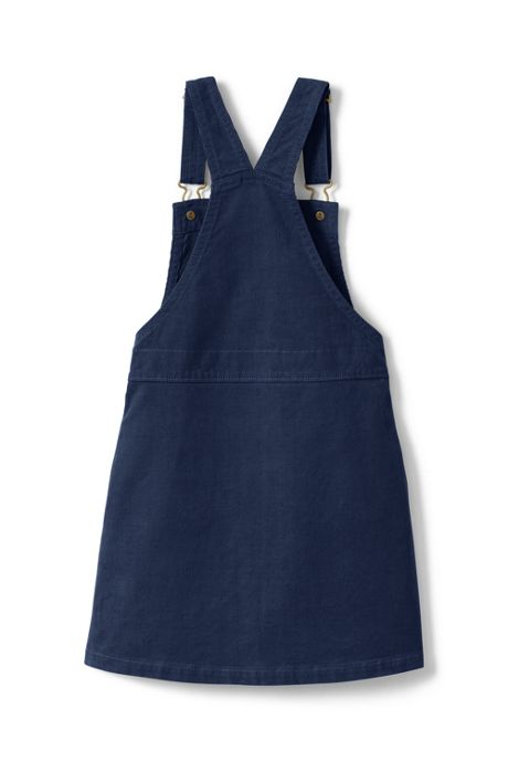 Little Girls Corduroy Pinafore Dress