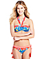 Women's Sunrise Collection Multi-way Floral Bikini Top