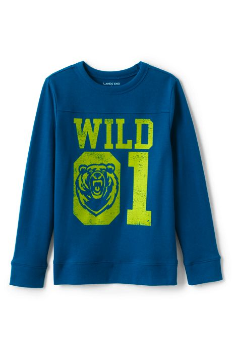 Little Boys Graphic Varsity Tee
