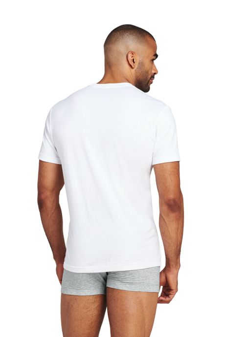 Men's Tall Comfort First Stretch Knit Crewneck T-Shirt