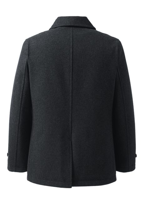 Men's Wool Car Coat