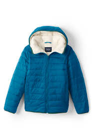 Kids Winter Fleece Lined Down Alternative ThermoPlume Jacket