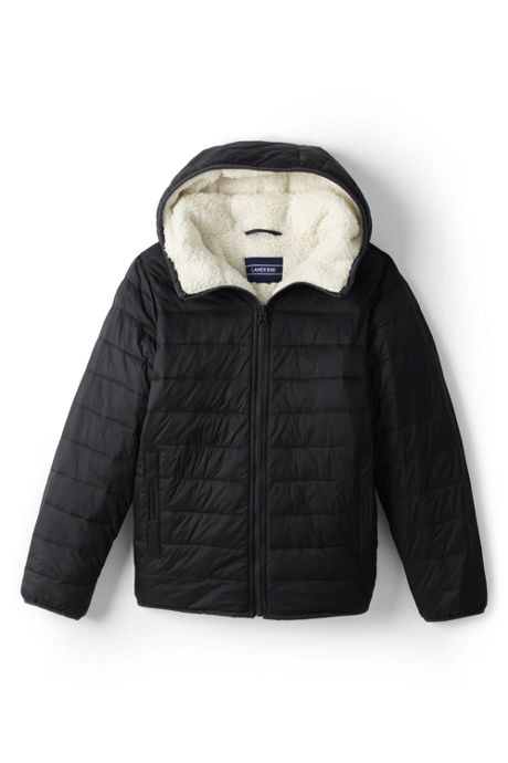 Little Kids Winter Fleece Lined Down Alternative ThermoPlume Jacket