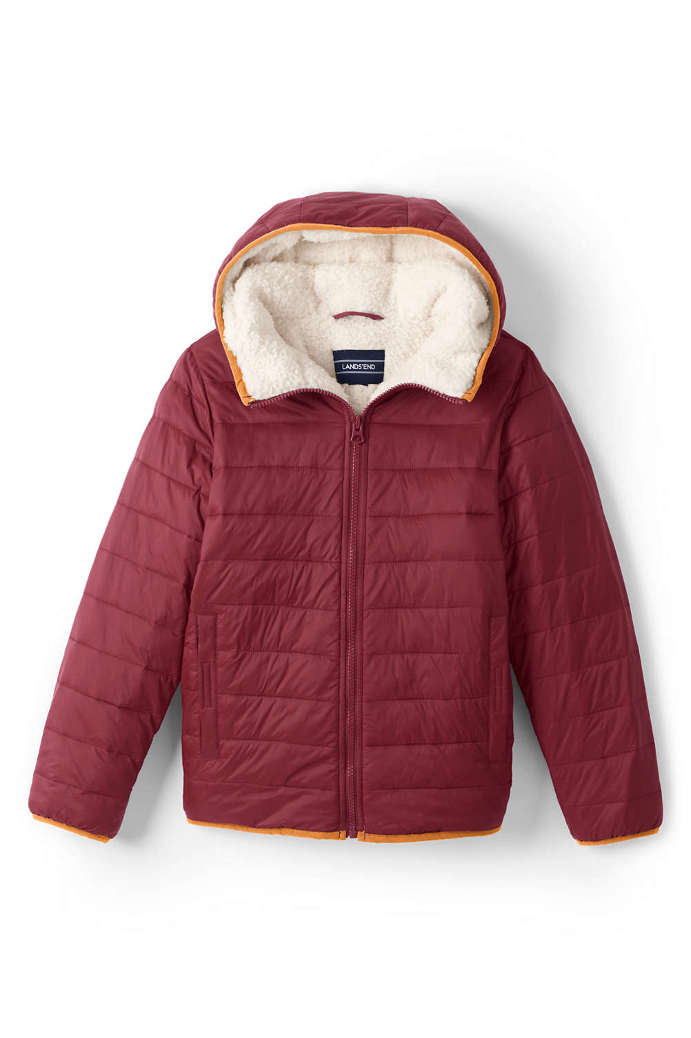 d3ba1b183e64 Kids Winter Fleece Lined Down Alternative ThermoPlume Jacket from ...
