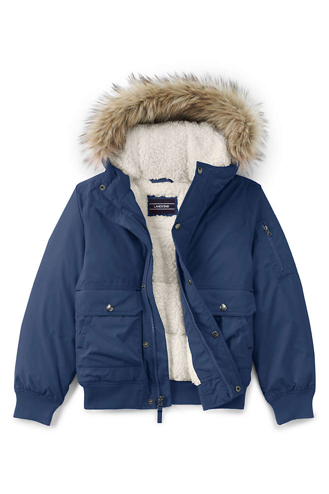Kids Expedition Down Winter Bomber, Front