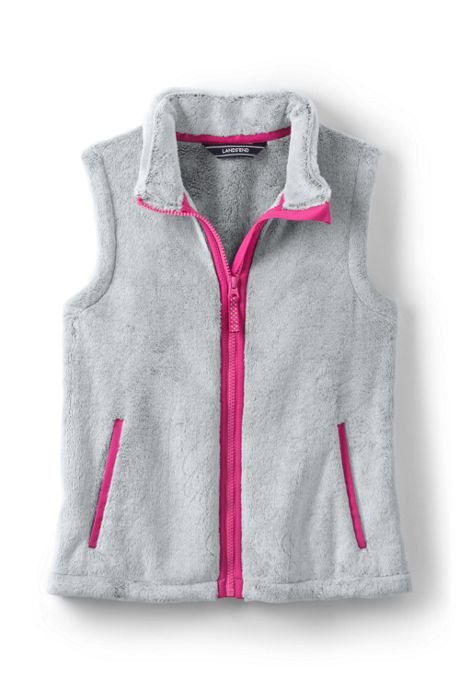 School Uniform Little Girls Softest Fleece Vest