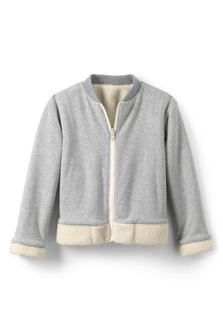Girls Plus Reversible Bomber Jacket