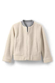 Little Girls Reversible Bomber Jacket