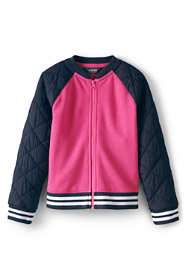 Toddler Girls Varsity Bomber Jacket
