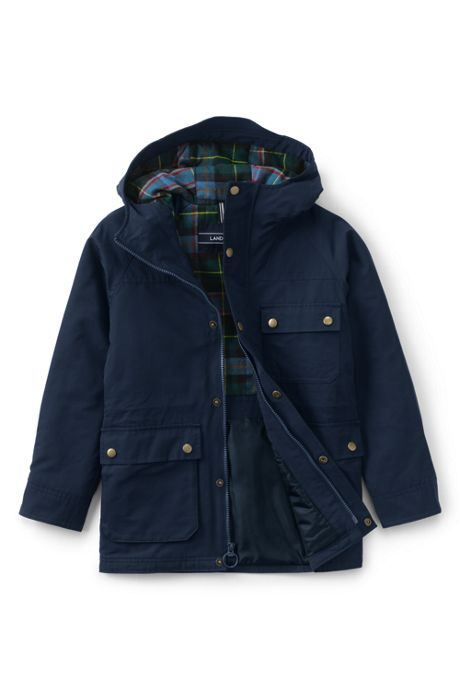 School Uniform Kids Bayfield Parka