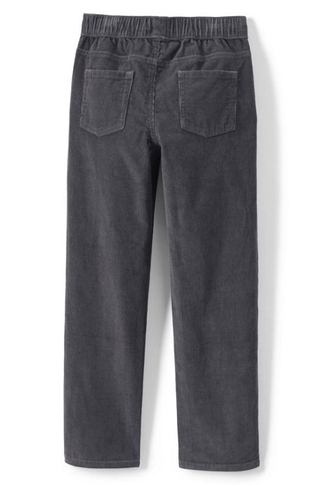 Boys Husky Pull On Corduroy Pant