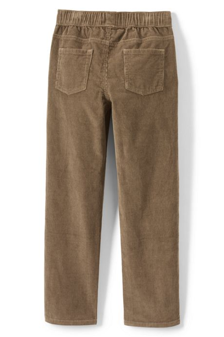 Little Boys Slim Pull On Corduroy Pant