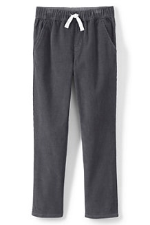Boys' Iron Knees Pull On Corduroy Trousers