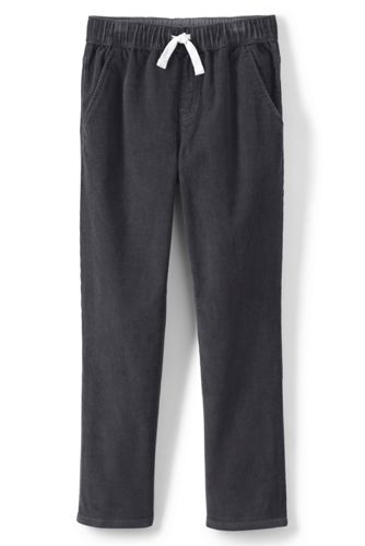 Little Boys' Iron Knees Pull-on Cord Trousers