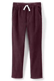 Boys Slim Pull On Corduroy Pants