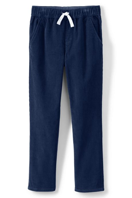 Boys Husky Pull On Corduroy Pants