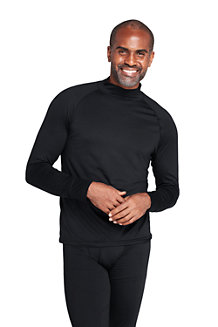 Men's Stretch Thermaskin Polo Neck Thermal Top