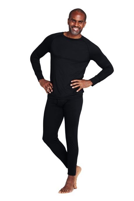 Men's Tall Stretch Thermaskin Long Underwear Crew Base Layer