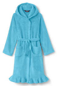 Toddler Girls Fleece Ruffle Hem Robe