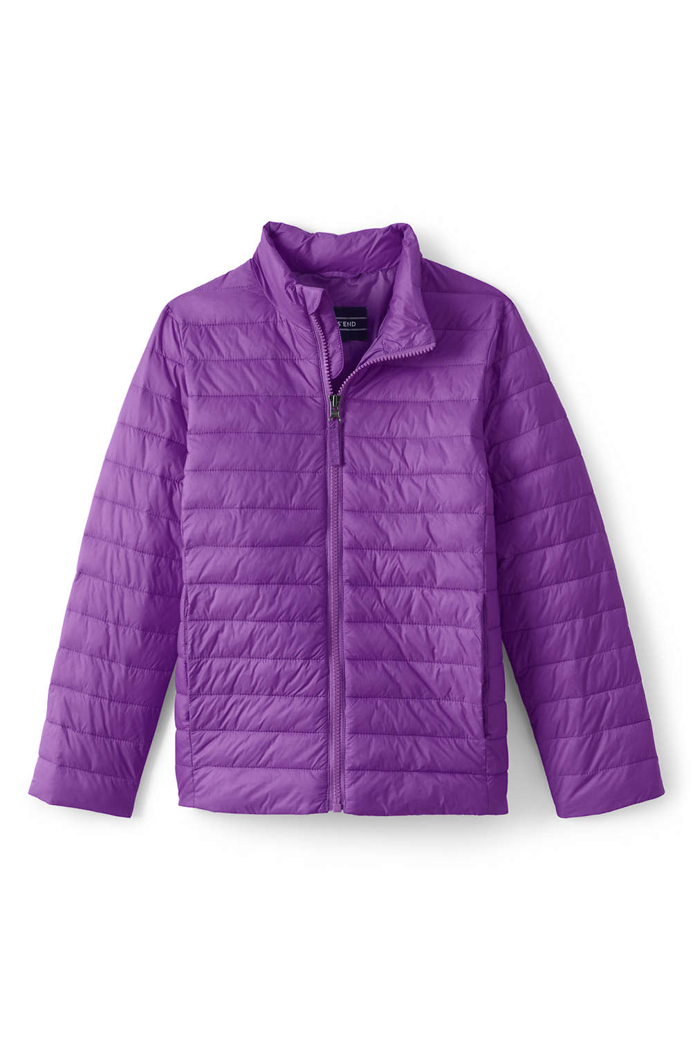 2a9782df8 Kids Insulated Down Alternative ThermoPlume Jacket from Lands  End