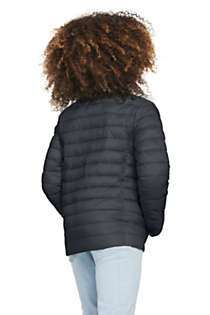 School Uniform Kids Insulated Down Alternative ThermoPlume Jacket, Back