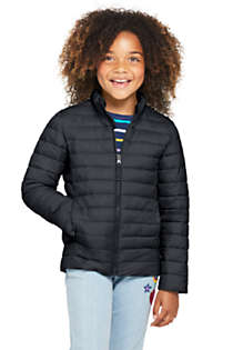 School Uniform Kids Insulated Down Alternative ThermoPlume Jacket, Front