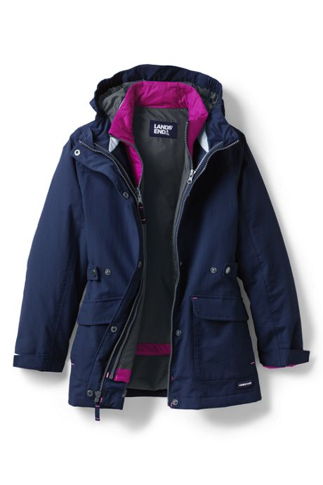 Little Girls Squall 3 in 1 Waterproof Winter Parka