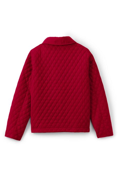 School Uniform Girls Quilted Jacket